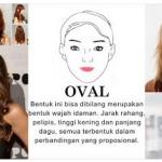 Trend Model Potongan Gaya Rambut Wanita Masa Kini Sesuai Dengan Bentuk Wajah