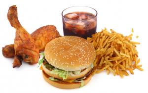 makanan tidak sehat junk food