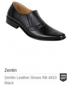 sepatu formal zeintin
