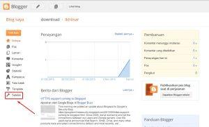 cara memasang kode script pelacakan google analytics pada blogspot