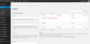 Cara Membuat Kategori Posting Pada WordPress