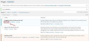 cara memasang kode script pelacakan google analytics pada wordpress