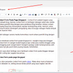 Cara Membuat Deskripsi Penelusuran Pada Blogspot Agar Posting Lebih Seo